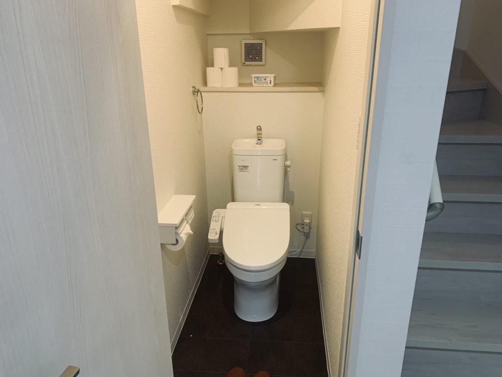 わおんOSAKAのトイレ