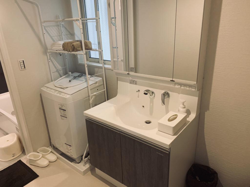 わおんOSAKAの洗面・脱衣室